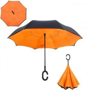 C nyakú narancssárga esernyő
