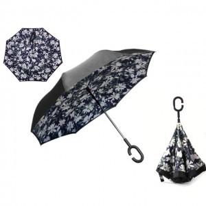 C nyakú kamilla mintás esernyő