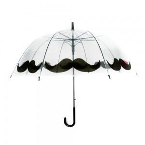 Áttetsző mintás esernyő