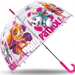 Gyerek átlátszó esernyő Paw Patrol, Mancs Őrjárat 70cm