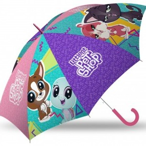 Gyerek félautomata esernyő Littlest Pet Shop 84 cm