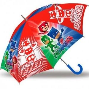 Gyerek félautomata esernyő PJ Masks, Pizsihősök 84 cm